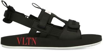 Valentino Vltn Shore Leather Sandals