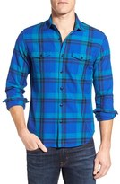 Bonobos Men's 'Clark' Slim Fit Plaid Flannel Sport Shirt