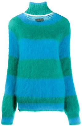 Gianluca Capannolo Striped Knitted Jumper
