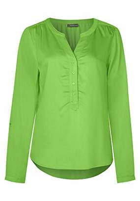Street One Women's 3429 Blouse, Green (Flash Lime 133), (Size: 38)