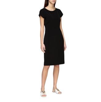 Boutique Moschino Sheath Dress In Stretch Crecirc;pe