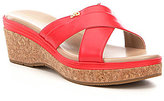 Cole Haan Briella Grand Leather Wedge Sandals