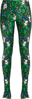 Balenciaga Floral-print bonded-jersey leggings