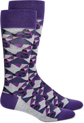 Alfani Men Camo Panda Socks