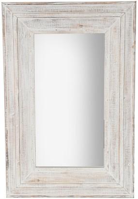 """Sagebrook Home Wood Framed 36"""" Wall Mirror"""