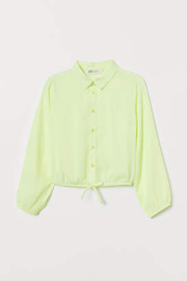 H&M Airy Blouse - Yellow