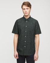 Tie Dye Print Short Sleeved Shirt