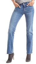 Gap Washwell mid rise perfect boot jeans
