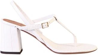 L'Autre Chose T-Bar Thong Sandals