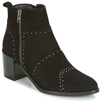 Regard RAPAGA women's Low Ankle Boots in Black