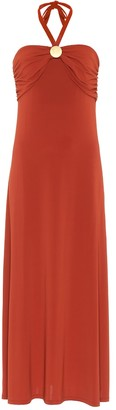 Max Mara Leisure Morris halter maxi dress