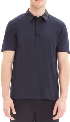 Theory Men's Tech Function Pique Polo Shirt