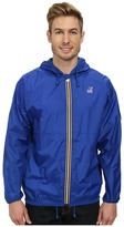 K-Way Claude Klassic Waterproof Jacket w/ Hood