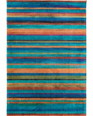 Teal Stripe Rug Shop The World S Largest Collection Of Fashion Shopstyle