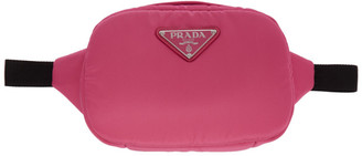 Prada Pink Nylon Belt Bag