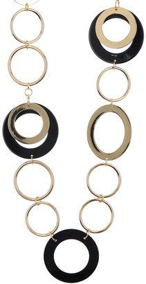 trina Trina Turk Multi-Circle Link Necklace