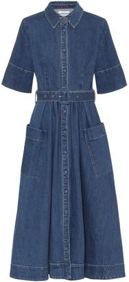 Co Essentials denim maxi dress