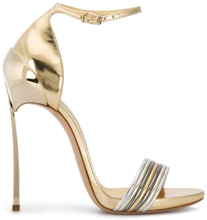 b8ad68b301b Casadei Gold Women's Shoes - ShopStyle