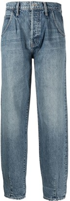 Mother The Bounce straight-leg jeans