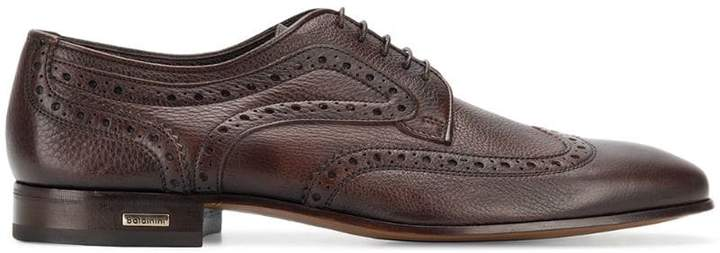 Baldinini embroidered derby shoes