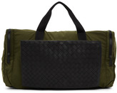 Bottega Veneta Green Intrecciato Packable Duffle Bag