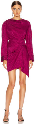 Isabel Marant Rachel Dress in Fuchsia | FWRD