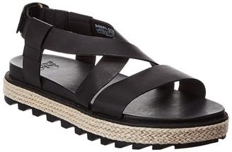 Sorel Roaming Crisscross Leather Sandal