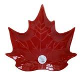 Jay Import Harvest Leaf Embossed Platter