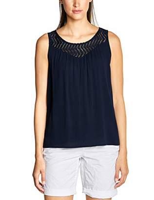 Street One Women's 313531 Tinka Vest, Wine Red 11817, 10 (Size: )