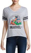 Freeze Marvel Short-Sleeve Burnout Football Tee