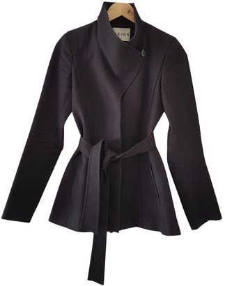 Reiss Black Cotton Jacket for Women