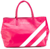 Marc Ellis - striped tote - women - Leather - One Size