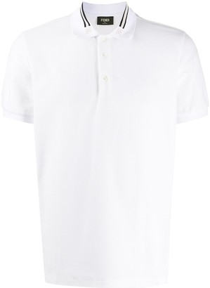 Fendi Karligraphy polo shirt