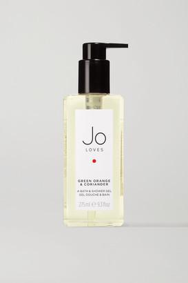 JO LOVES Green Orange & Coriander Bath & Shower Gel, 275ml