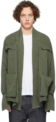 Greg Lauren Green Baker Studio Jacket
