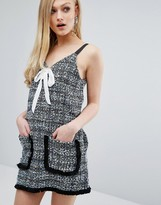 Sister Jane Tweed Pinafore Slip Dress