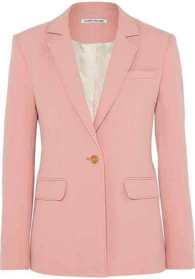 Elizabeth and James Carson Crepe Blazer - Pink