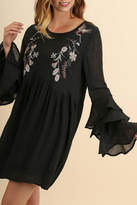 Umgee USA Long-Sleeve Boho Dress