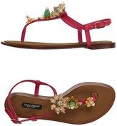 Dolce & Gabbana Toe strap sandals - Item 11196970