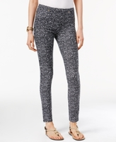 MICHAEL Michael Kors Petite Thora Printed Leggings