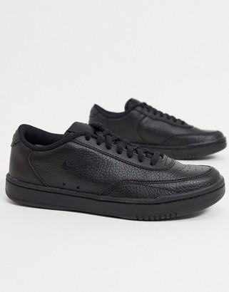 Nike Court Vintage sneakers in black