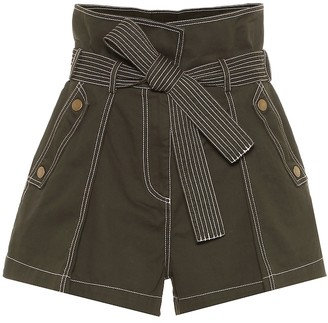 Ulla Johnson Elliot cotton paperbag shorts