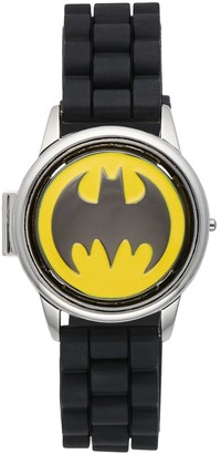 DC Comics Batman Logo Spinning Flip Top Digital Watch