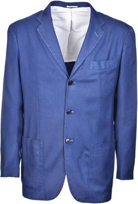 Kiton Single Breasted Jacket