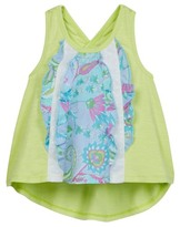 Mimi & Maggie Paisley Ruffle Tank (Toddler, Little Girls, & Big Girls)