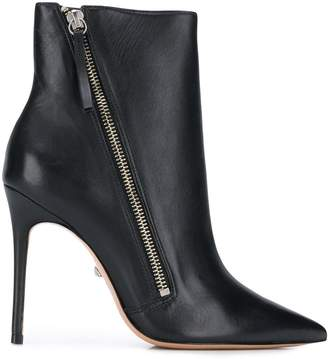 Schutz pointed toe ankle boots