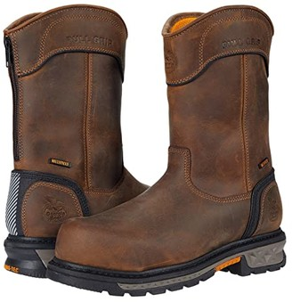 Georgia Boot Carbo-Tec LTX Waterproof Comp Toe 11 Pull-On (Brown) Men's Boots