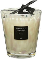 Baobab Collection Pearls Scented Candle - White Pearls - 16cm