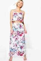 Boohoo Aimee Floral Printed PJ Set