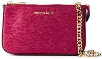 Michael Kors Logo Plaque Tote Bag